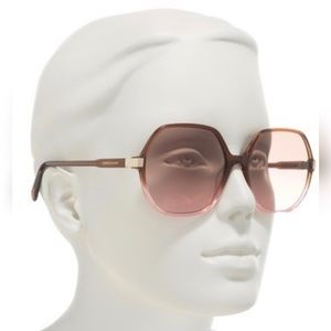 Longchamp sunglasses, oversized frame, perfect!
